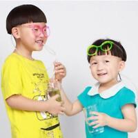 Drinking Straw Glasses Party Toy Boy Girl GIFT Christmas Stocking Filler-random