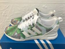 Adidas Originals ZX Flux Adv Smooth W S82890 Green White Floral Print Size 7 UK