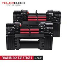 POWERBLOCK EXP Stage 1 Adjustable Dumbbell Set (1 Pair) *IN HAND