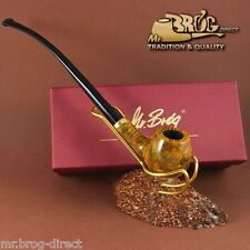 OUTSTANDING CHURCHWARDEN Mr.Brog smoking pipe nr. 114 CONSTANCE - AMBER