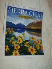 NIB Cnd 2013 Sierra Club Wilderness Wall Calendar Nature Vistas Environmental Mb