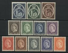 St Vincent 1955 QEII Values Set Unmounted Mint