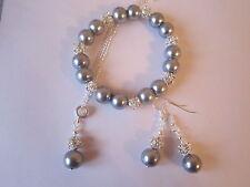 Rhinestone Pearl Costume Jewellery Sets