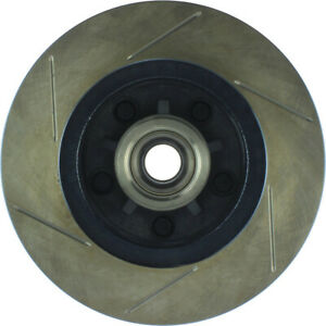 Disc Brake Rotor-Sport Slotted Brake Disc Front Left Stoptech 126.62002SL