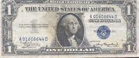 USA 1 Dollar 1935 A Silver Certificate One Banknote Schein Gute Erhaltung #21939