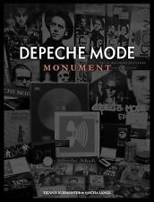 Depeche Mode: Monument by Dennis Burmeister and Sascha Lange (2017, Hardcover)