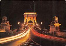 B29566 Budapest Chain Bridge hungary