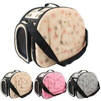 Puppy Pet Dog Cat Carrier Bag Portable Travel Tote Crate Bag Kennel Box Holder