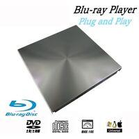 Externes 3D Blu Ray DVD Laufwerk USB 3.0 BD CD DVD Brenner Spieler Schrifts T2K4