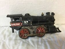 Antique Cast Iron Wind-Up Locomotive Train Engine American Flyer Ives Hafner