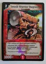 Smash Warrior Stagrandu DUEL MASTERS ORIGINAL HOLO PROMO CARD NM