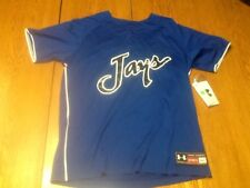 Under armour creighton blue jays sublimated mens medium baseball jersey medium