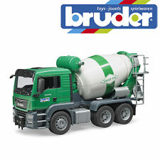Bruder MAN TGS Cement Mixer Construction Truck Kids Toy Model Scale 1:16