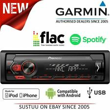 Pioneer Car Stereo Player¦1-DIN Media Receiver¦Radio¦iPod-iPhone-Android¦USB/Aux