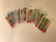 THE SIMPSONS STICKERS by TOPPS 2002 Complete MINI WHITE BORDER STICKER SET (50)