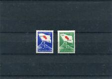 Italia  Trieste B 1951 40-41 croce rossa (francobollo verde lieve macchia)  Mnh