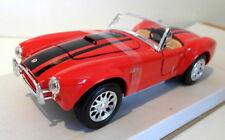 Maisto 1/24 diecast - 31276 1965 Shelby Cobra 427 red / black