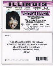 Chicago Illinois IL Drivers License fake id i.d. card Lake Shore Drive DR