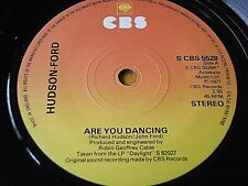 """HUDSON-FORD - ARE YOU DANCING  7"""" VINYL"""