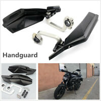 "1 Pair Universal 7/8"" 22mm Motorcycle Dirt Bike Handguard Hand Guard Protector"