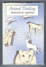 Animal Thinking by Donald R. Griffin - Harvard University Press, Hardcover, DJ