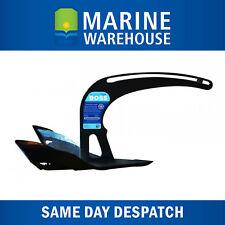 Manson Boss Anchor Galvanised Black Epoxy 10LB 4.5KG - Small Boat Marine 106481B