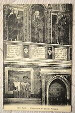 """CPA """" ALBI - Cathédrale Ste Cécile - Fresque"""
