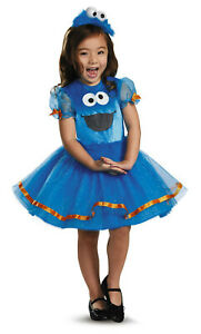 Cookie Monster Tutu Deluxe Dress-Child Costume Infant and Toddler Sizes New!