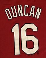 Chris Duncan St. Louis Cardinals #16 Jersey T-Shirt Large Shirsey 2006 WS RIP