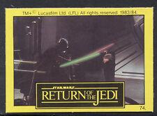 Monty Gum - Star Wars - Return of The Jedi - Card No 74
