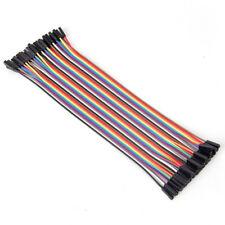 10cm 2.54mm Female To Female  Wire Jumper Cable For Arduino Breadboard CA
