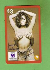 #D175.   AUSTRALIAN  JANET  JACKSON   PHONECARD