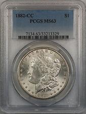1882-CC Morgan Silver Dollar $1 Coin PCGS MS-63 (12-F)