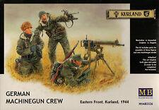 1/35 German Machine Gun (MG-08) Crew, Eastern Front 1944 - 3 Figures Set