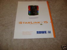 Rowe Ami jukebox flyer Starlink