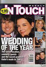 TOM CRUISE & KATIE HOLMES SURI WEDDING PICS InTOUCH 2006