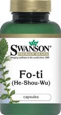 FO-TI (He-Shou-Wu) - 500 mg - 60 Capsules - IMMUNE SUPPORT STAMINA LONGETIVITY