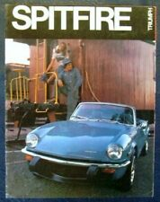 TRIUMPH SPITFIRE SPORTS CAR USA Sales Brochure 1974 #SP741