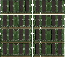 BULK LOT! 16GB (8x2GB) Memory PC2-6400 SODIMM For IBM Lenovo HP Dell Laptop