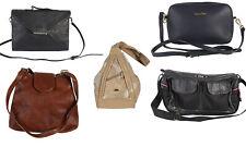 Vintage Womens Bags Leather Hand Shoulder Bags 90s Wholesale Job Lot x20 -Lot423