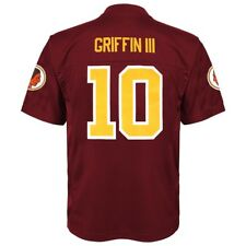 W tags Washington Redskins Maroon Griffin NFL Team Apparel Youth Jersey XL 27cd36584