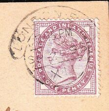 Great Britain Koch & Co Order Postcard Victoria 1p London1895 Revigny France 3w