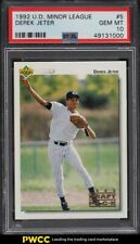 1992 Upper Deck Minor League Derek Jeter ROOKIE RC #5 PSA 10 GEM MINT