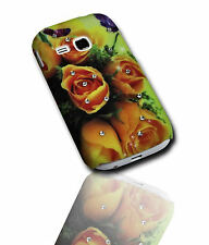 Design Strass No.2 Back Cover Samsung S6310 Galaxy Young + Displayschutzfolie