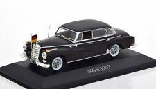 1:43 Atlas Mercedes 300 W189 Bundeskanzler Adenauer 1957-1962 black