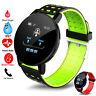 2020 Smartwatch Armband Schrittzähler Pulsuhr Blutdruck Sport Fitness Tracker