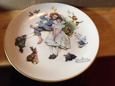 Plate~Norman Rockwell Gorham Fine China 1973 Spring~Sweet Song So Young Wall