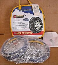 2324-s Les Schwab Quick Fit Sport Tire Snow Chains, Never Used