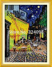 BNIP Joy Sunday Van Gogh's Coffee Shop Cross Stitch Kit 14 ct 19 x 27cm