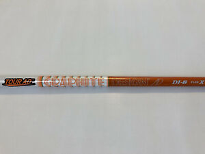 NEW 2020 Graphite Design Tour AD DI 6 X Flex Stiff Shaft Golf Pride Wood Orange